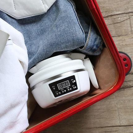 折叠水壶小型旅游便携式烧水神器旅行智能压缩保恒温迷你电热煮水