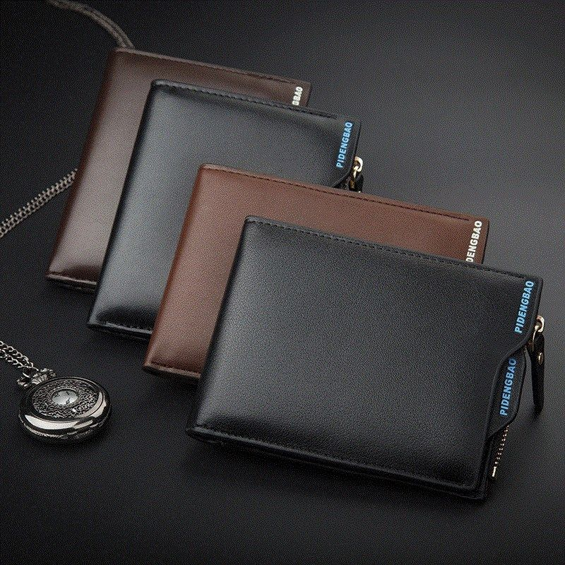 Mens wallet with drivers license and wallet can hold drivers license