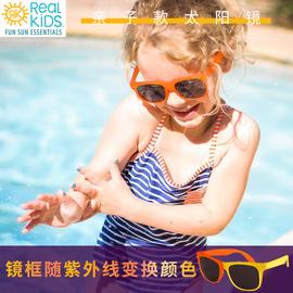 新品美国realkidsshades魔术师进口儿童太阳眼镜防紫外线男女墨镜图片