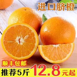 【顺丰包邮】埃及南非进口柳橙脐橙手剥甜橙子3/5斤整件当季水果