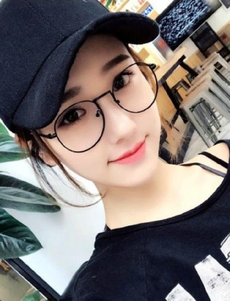 男女舒适防辐射抗蓝光眼镜手机电脑护目护眼平面平光平镜没有度数