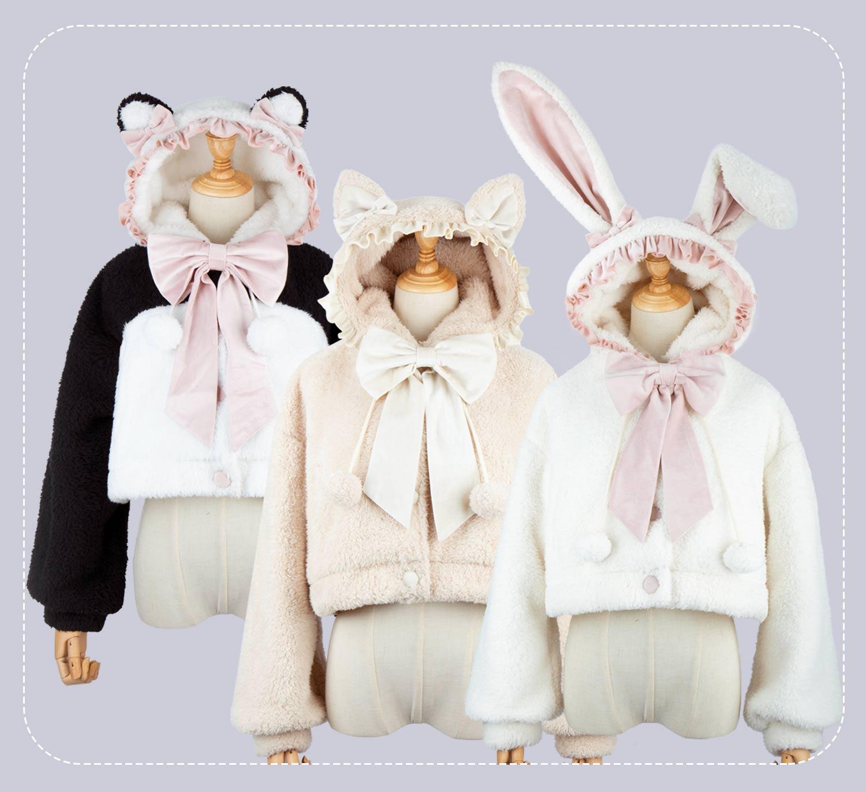 【現物】My Sweetheart可愛いソフト萌えコートはロリータLolitaに似合います。JK。