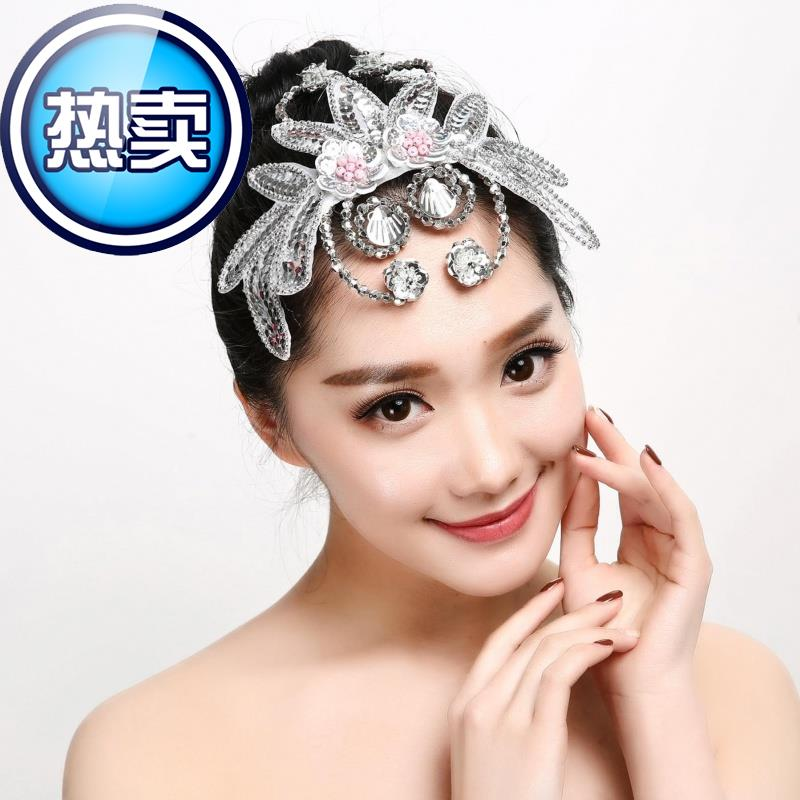 Role playing hair clip classical dance national dance 22 dance national dance headdress stage props sweet personality