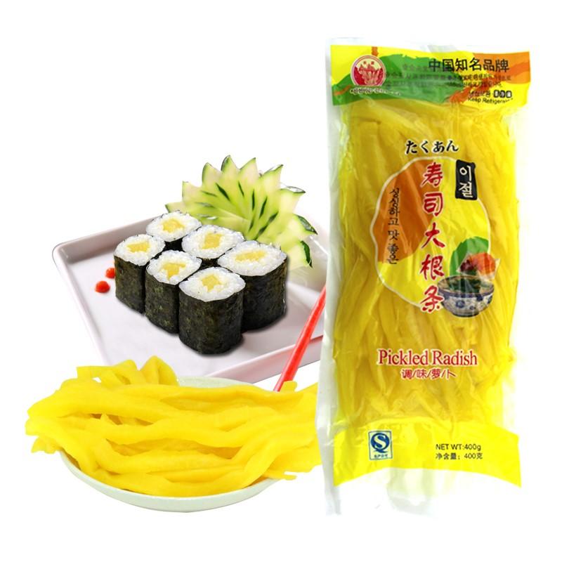 寿司材料配菜酸甜黄萝卜条做紫菜包饭海苔专用原料食材调味3包