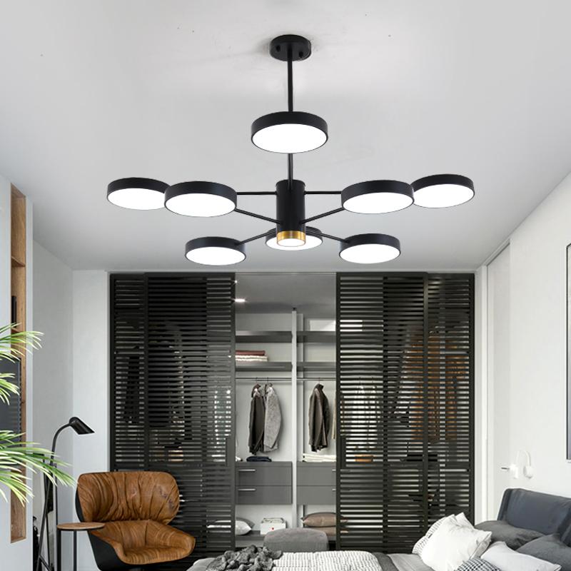 客厅大灯大气简约现代创意个性吊灯