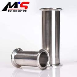 304不锈钢快装直管接头卡箍式快速卡盘直通快开卫生级水管道配件