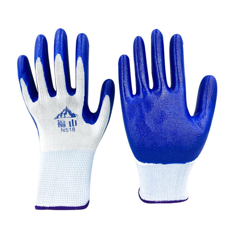手套劳保耐磨工作防水浸胶橡胶胶皮防滑工地透气耐油塑胶机械涂胶