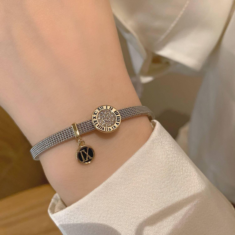 Lovely Trinket watch chain bracelet womens 2021 new light luxury niche exquisite accessories