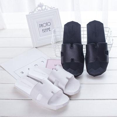 拖鞋女夏季居家居情侣室内家用防滑洗澡塑料凉拖鞋男百搭夏天外穿