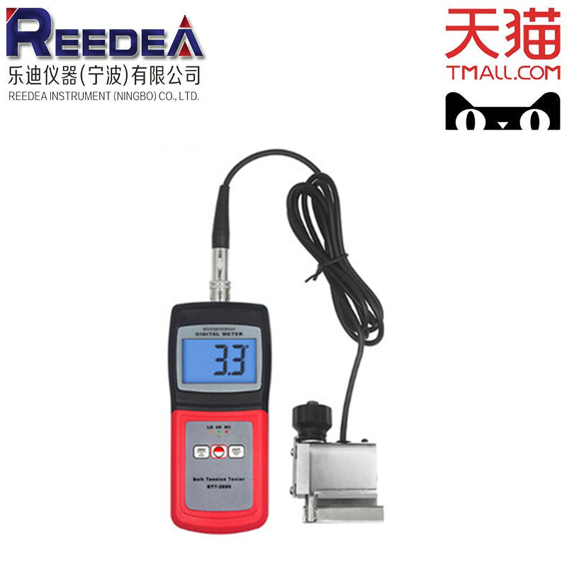 Belt tension meter btt2880 is used to measure and adjust the belt tension of motor and other machinery