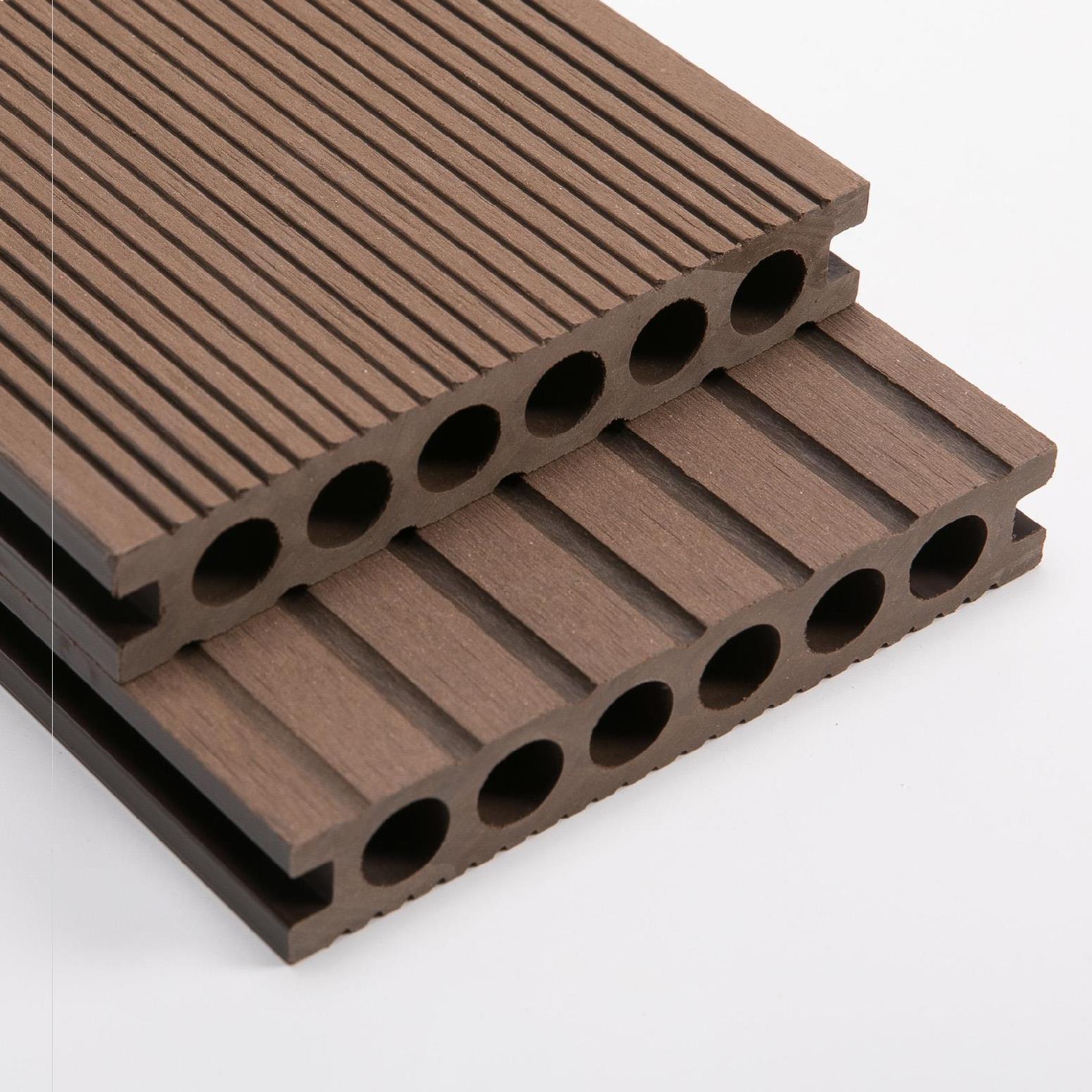 家庭用の長方形の屋外マットの高硬度の天井は木をまねる。屋外の木の床を作って、心をこめて露天を作ります。