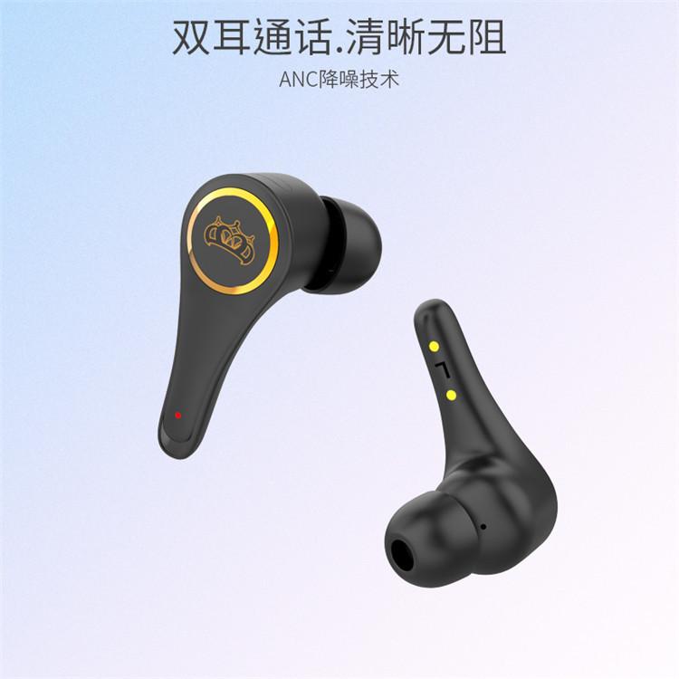 新款TWS-H2私模ANC真主动降噪蓝牙耳机运动双耳通话清晰