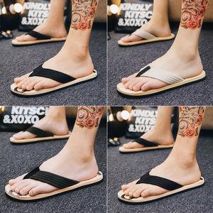 新款人字拖男学生夹脚拖夏季男士沙滩鞋凉拖鞋韩版防滑拖鞋男鞋子