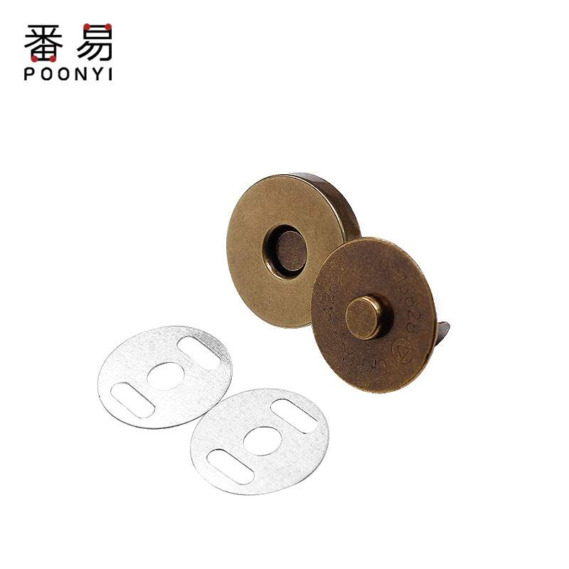 Purse button, magnet bag, bag, concealed button, seamless suction cup, invisible button, metal magnetic button, button, bag accessories