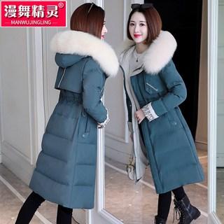 羽绒棉衣棉服女中长款女装冬装棉袄2020年新款爆款冬季加厚外套潮