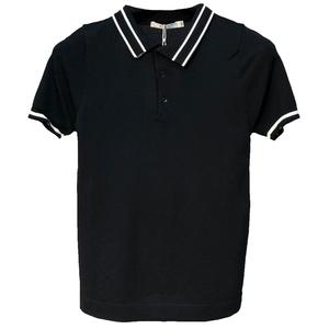 潮牌2021夏季男士条纹polo针织衫