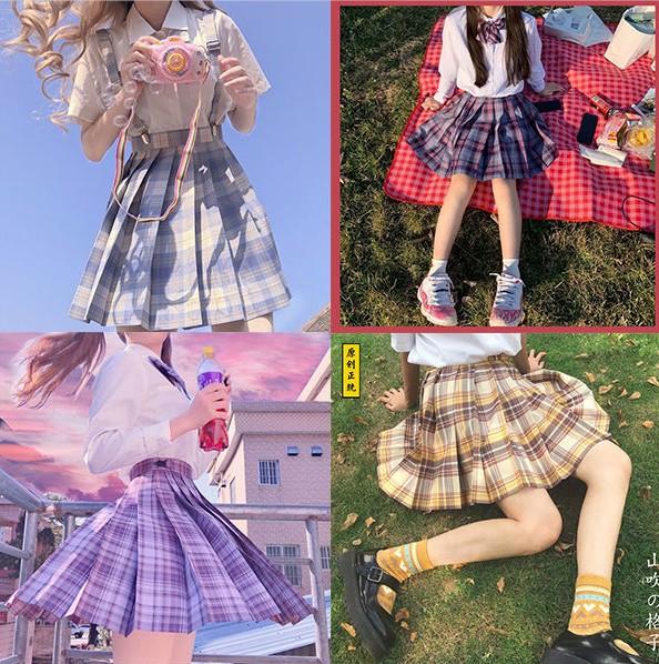 小迪原创jk制服正版全套女童夏季儿童一套套装学生学院风日系格裙