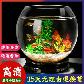 金鱼缸玻璃生态鱼缸水族箱客厅小型桌面乌龟缸创意迷你家用小鱼缸