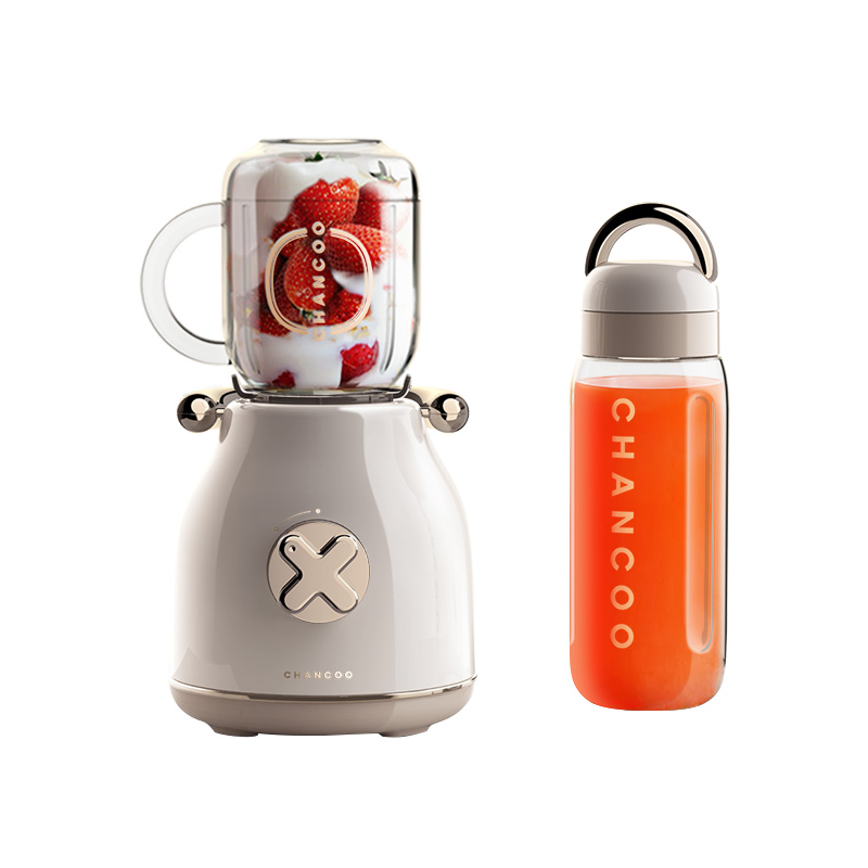 CHANCOO/橙厨房C 5800ジューサー家庭用果物小型携帯果汁機レトロデザイン