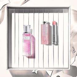 【官方正品】Dior迪奥花漾女神礼盒 花漾随行淡香氛+魅惑润唇膏