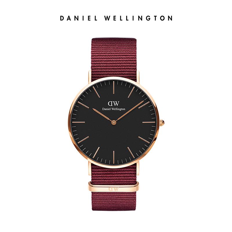 【5折秒杀】dw 36mm简约气质官方手表