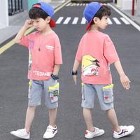 2021新款儿童童装男童夏装夏季韩版