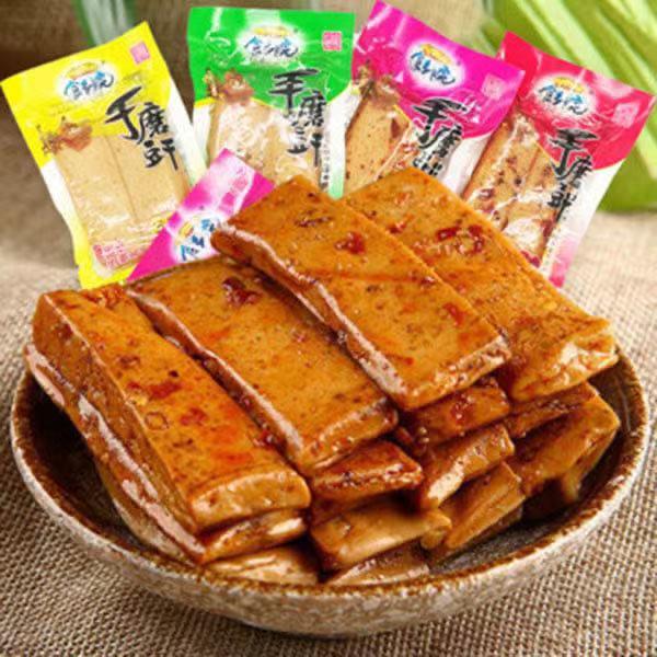精选巴蜀特产半斤混装手磨豆腐干休闲零食Q弹散装称重多口味 爆款