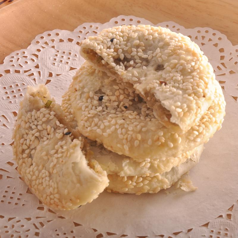 芝麻薄酥饼 吉安 江西特产葱油酥饼零食井冈山传统糕点月饼甜包邮