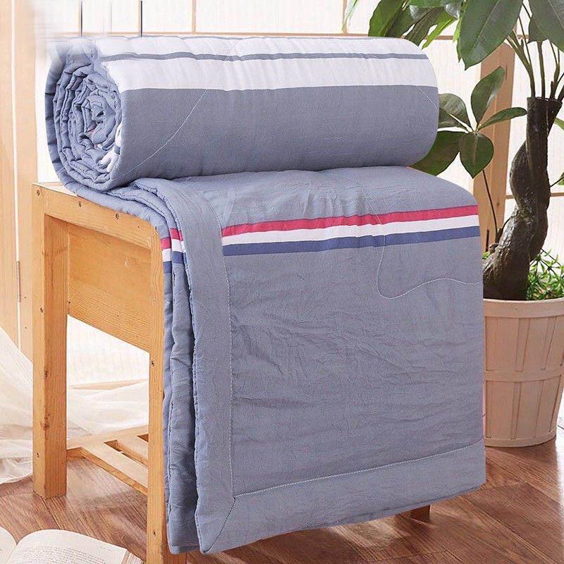全棉水洗棉夏被空调被夏凉被单双人1m学生宿舍被芯家用冷气薄被