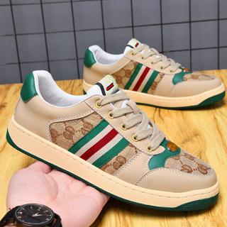 旺酷奇男鞋2021年新款潮夏季炸街真皮鞋子奢侈品男鞋网红爆款女鞋