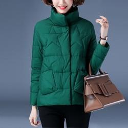 小款棉衣女短款羽绒棉服2020年新款洋气中年妈妈棉袄加厚冬季外套