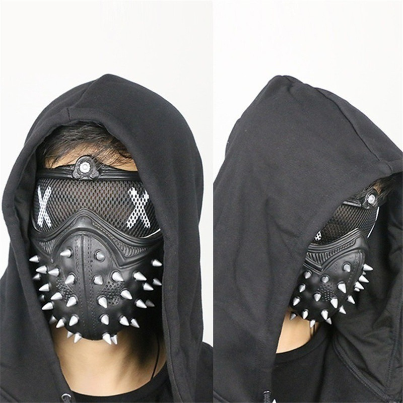 Game Watch Dogs 2 WD2 Mask 游戏周边看门狗面具面罩