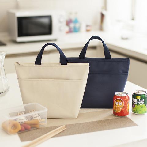 上班族饭盒手提包铝箔保温袋加厚便当袋饭盒袋子餐包手拎带饭包