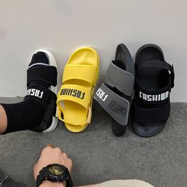 2021新款夏情侣男士室外穿韩版两穿运动ins潮休闲防滑沙滩凉拖鞋