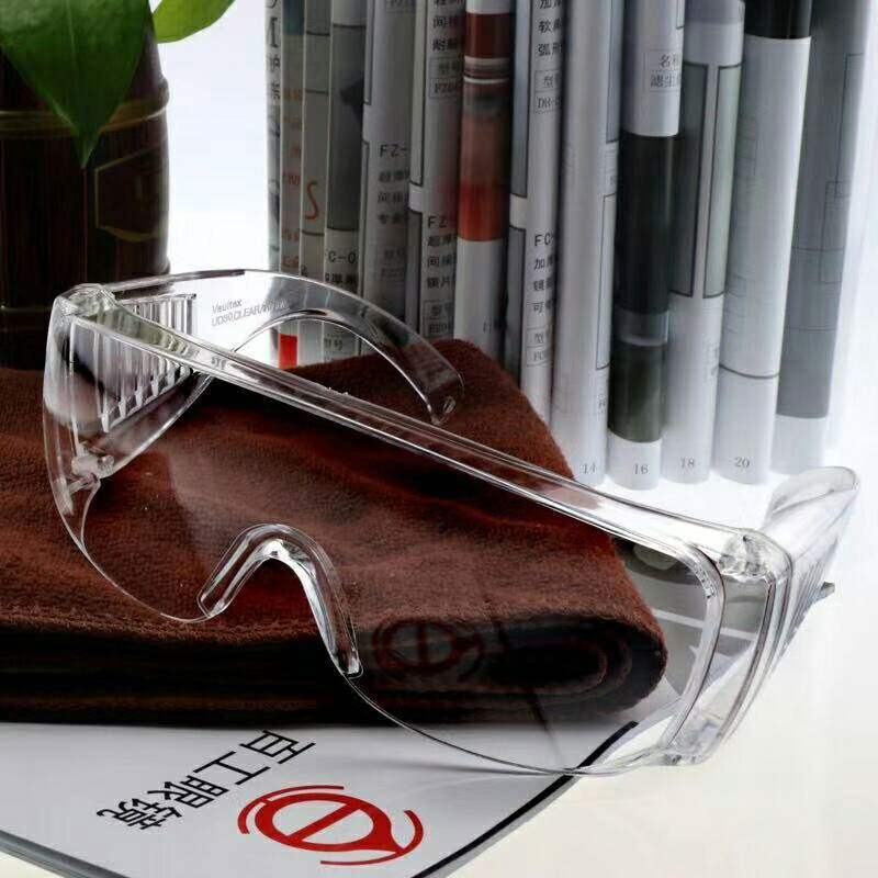 Transparent 1148 welding glasses professional anti scrap iron flank UV protection AC lens anti impact glasses