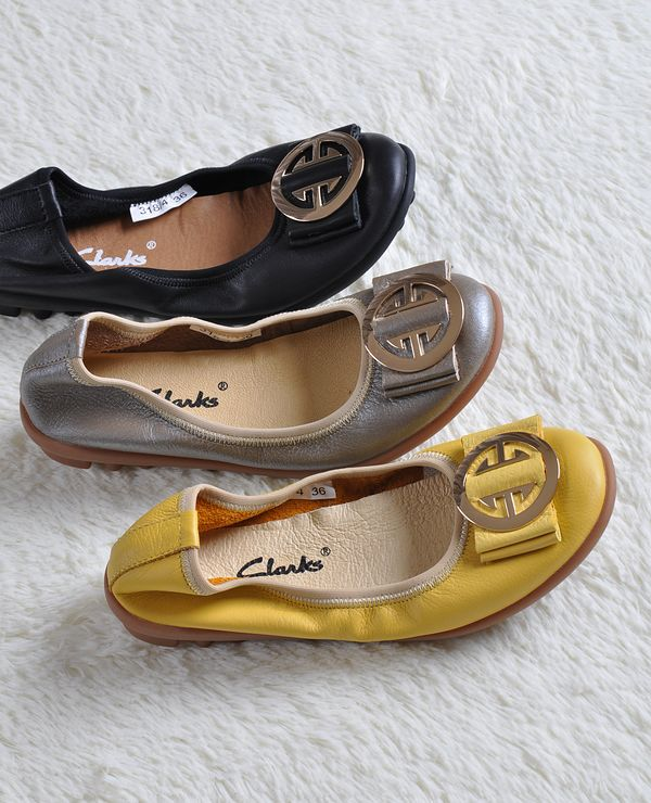 Super comfortable European and American style ballet shoes classic flat shoes 3 colors