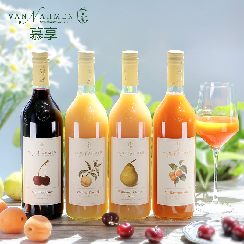 NFC fruit juice peach juice apricot juice pear juice cherry juice net red Muxiang juice 750ml