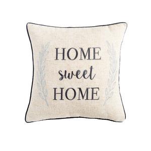 抱枕刺绣ins北欧麻字母沙发抱枕轻奢柔软室内抱枕欧美风