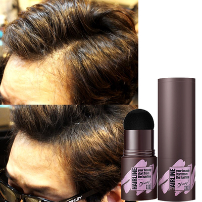 Men's grooming hairline replacement forehead m shadow powder filling pen artifact scarce hair on the head cover