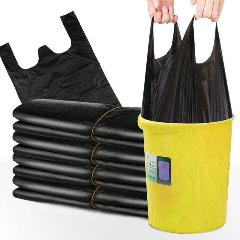 宝贝【【300只垃圾袋】加厚垃圾袋手提黑色垃圾袋一次性背心袋背心式】的主图,点击查看该宝贝的淘宝优惠券领取链接!