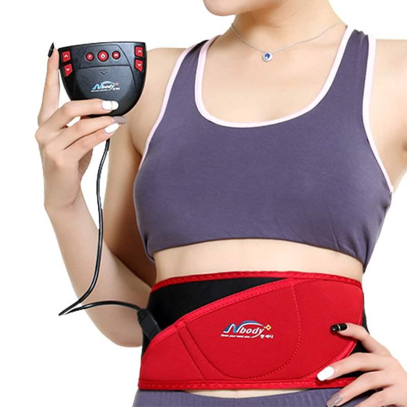 新款 甩脂器腰带减大瘦肚子瘦身仪收腹减肥机甩脂机健身器材