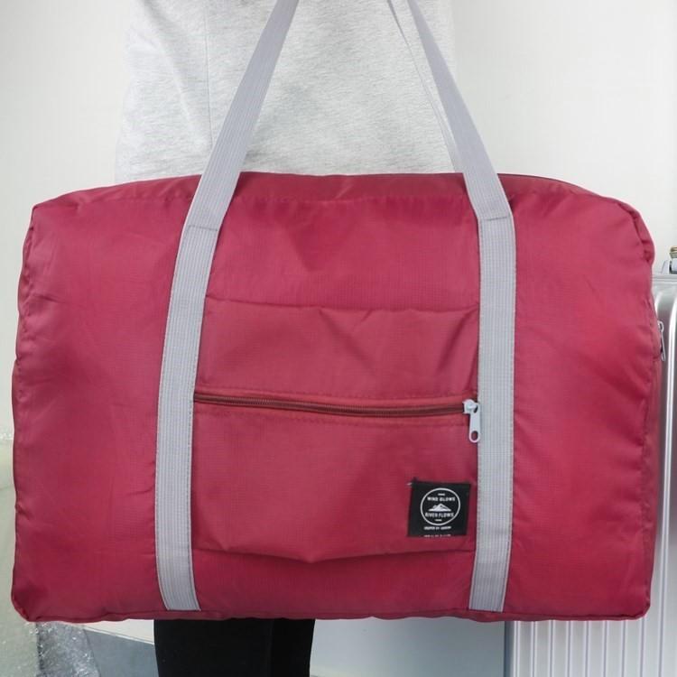 短途男旅行袋手提包防水包小行李包大容量商务旅游包女轻便简约