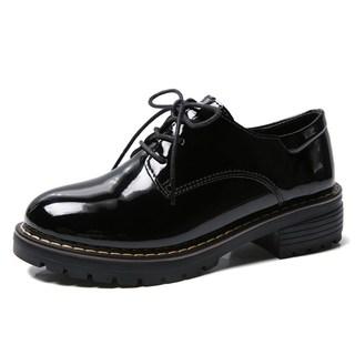 A小皮鞋女英伦风黑色单鞋百搭女鞋新款2021年爆款春秋季鞋子女