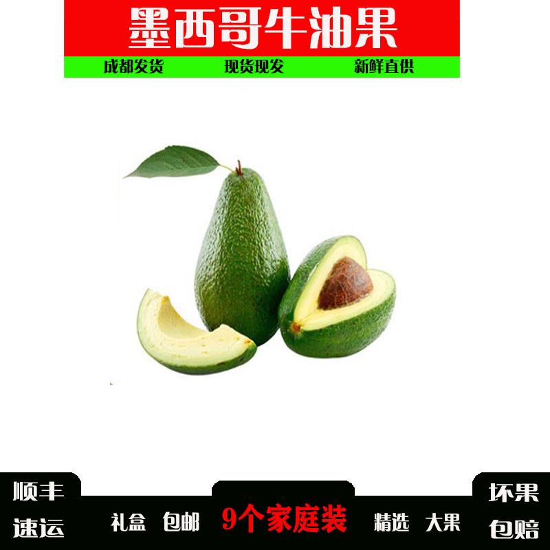 墨西哥牛油果进口巨无霸新鲜当季水果鳄梨应水果宝宝辅食酪梨顺丰