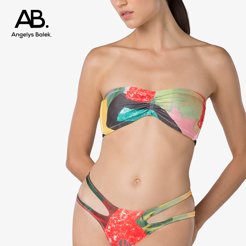 Angelys balek split Swimsuit Bikini Thai designer ab. Brazilian swimsuit womens summer new style