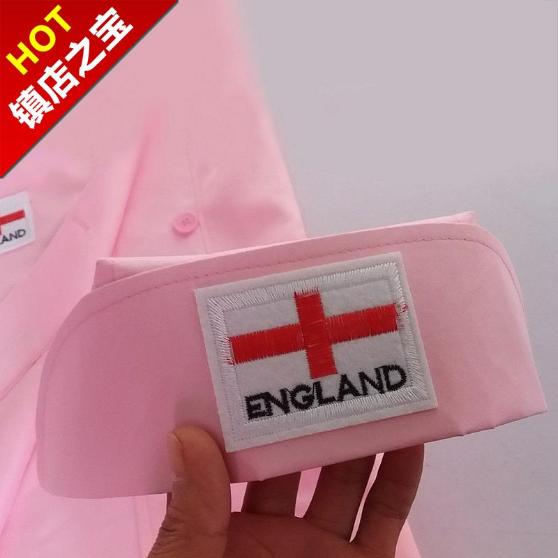 New kindergarten childrens doctors dress girls Pink role playing performance Costume White Coat