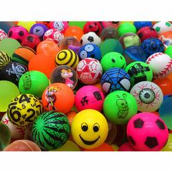 包邮32号混款一元扭蛋机专用弹力球儿童橡胶球玩具会浮弹弹球特价