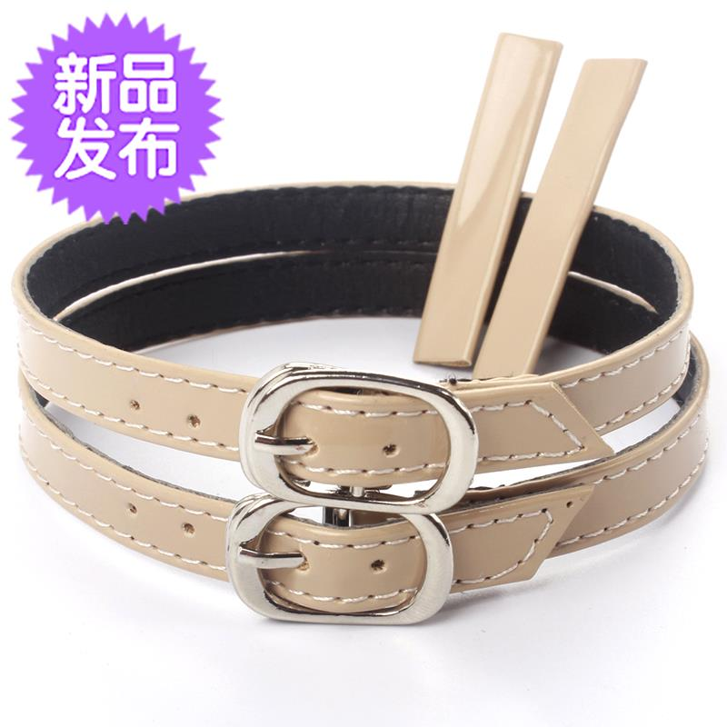 Turn over M leather, keep heel around ankles, tie shoelaces around ankles, travel sandals, replace bandages, buckle, universal and convenient