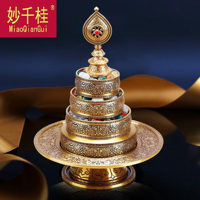 Круги с буддийскими текстами Артикул 641721567964