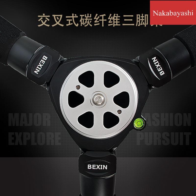 专业碳纤维三脚架相机三脚架微单数码拍电影摄像机三角架